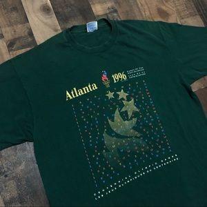 1996 Summer Olympics Atlanta Single Stitch T-Shirt
